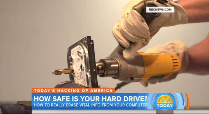 How safe is your hard drive?