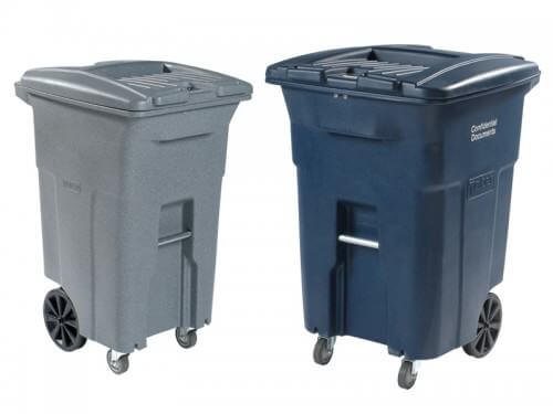 Document Shredding Totes & Containers