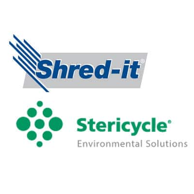 Shred-It the shredding company was acquired by Stericycle